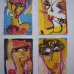 Portraits. Lithographs